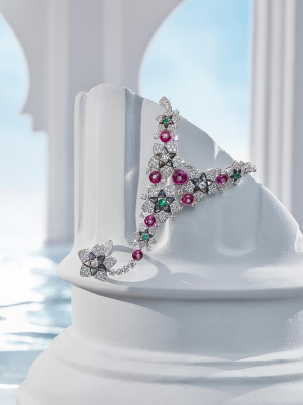 宝格丽Jannah高级珠宝系列手链戒指一体链