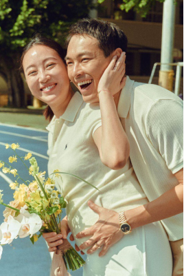 【CHAUMET最新资讯】杨祐宁选择CHAUMET旋爱对戒作为结婚对戒(1)148