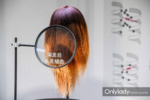 模拟四大头发问题:染发后头发褪色