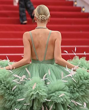 奥运会跑道有多长,戛纳红毯就有多惊艳