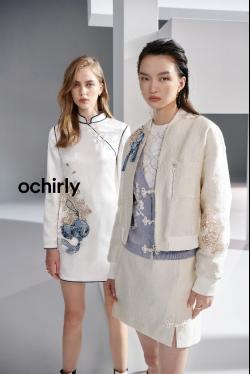 ochirly ×李旻国风联名系列新闻稿-9.13362
