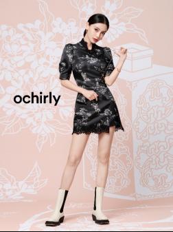 ochirly ×李旻国风联名系列新闻稿-9.13624