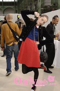 Chanel后台超模 私密穿衣抓拍