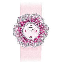 Chanel花朵系列钻石腕表
