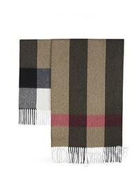 BURBERRY格纹围巾 实用时尚单品