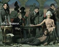Dolce&Gabbana 广告复古