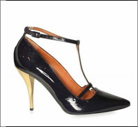 Lanvin最新款深色淑女高跟鞋
