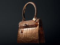定价190万美元 爱马仕推出全球最昂贵手袋