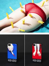 KENZO联名重口味杂志推出iPhone 5/5s 手机壳系列