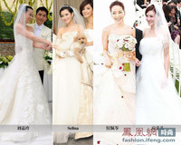 张震爱妻婚纱70万 明星都爱Vera Wang 3