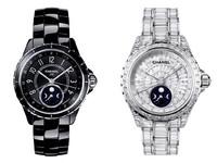 Chanel 招牌系列J12腕表新添月相成员