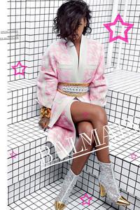 蕾哈娜成为Balmain广告片新角色