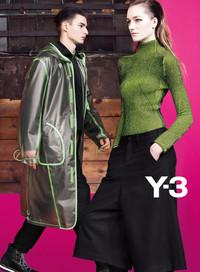 Y-3 2013年秋冬Lookbook