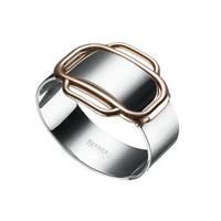 Hermès手环新品  简约金属风