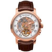 宝珀LE BRASSUS系列红金腕表