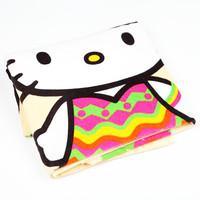 凯蒂猫沙滩浴巾