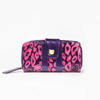 凯蒂猫2014新品豹纹钱包