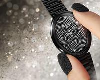RADO瑞士雷达表依莎系列高科技陶瓷斐波那契触感腕表钻石限量款