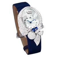 宝玑2014新品丝缎珠宝腕表