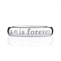 戴比尔斯结婚戒环 指环