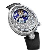 宝玑2014新品日夜显示女士腕表