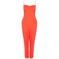 Topshop2014新品吊带连体裤