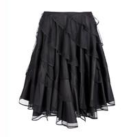 川久保玲新品黑色百褶半身裙