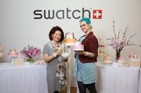斯沃琪与甜点艺术家SARA HOCHULI的美味特献