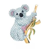 蒂芙尼动物王国胸针之呆萌熊