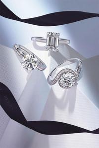 戴比尔斯钻石珠宝璀璨钻饰闪耀2014婚礼季