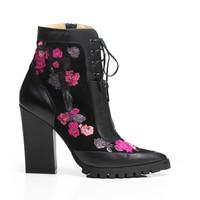 Shiatzy Chen2014秋冬摇滚砚池系列鞋靴