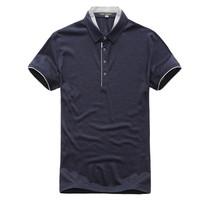 马克华菲2014新款修身商务短袖T恤