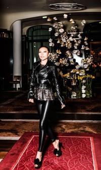 著名珠宝设计师万宝宝小姐受邀参加Dior J'adore晚宴