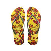 Havaianas 2014春夏新款香浅黄色拖鞋