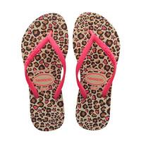 Havaianas SLIM FASHION豹纹女孩款拖鞋