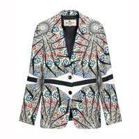 Etro2014秋冬新品 女士印花西服 外套
