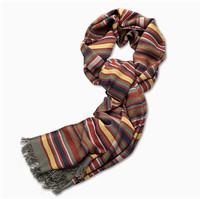 Levi's 男士条纹围巾