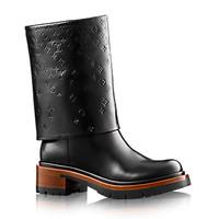 路易威登LV 2014秋冬新品女士平底靴 机车靴