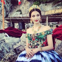 Dolce&Gabbana私密高定系列于卡普里岛举行
