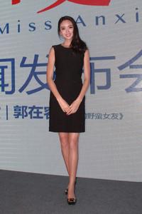 张梓琳身着JIL SANDER在京出席活动