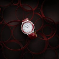 名士表约定系列中国红漆腕表