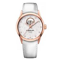 蕾蒙威 自动上链可视摆轮型女士腕表
