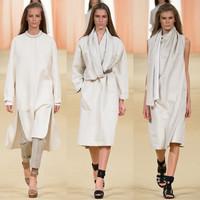 冷静优雅的告别 Hermès 2015春夏