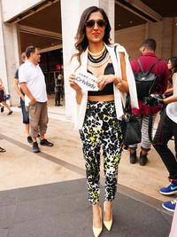 2015春夏纽约时装周街拍 小伙伴看秀美到爆