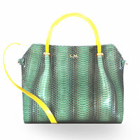 Nina Ricci 新款鳄鱼纹手提包
