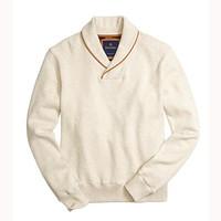 Brooks Brothers 男士披肩领针织毛衣