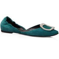 Roger Vivier 绿色平底鞋