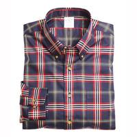 Brooks Brothers 男士经典英伦风格子衬衫