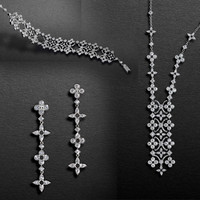 LV蕾丝元素与珠宝系列 你感再美点儿吗