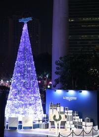 浪琴表圣诞梦幻奇境优雅闪耀申城